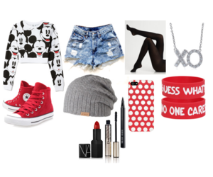 black, jean, and Polyvore image
