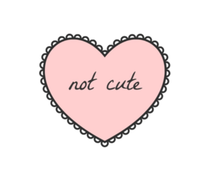 heart, cute, and pink image