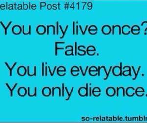 quote, true, and yolo image