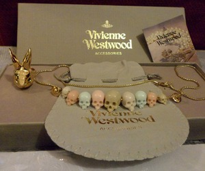 vivienne westwood, skull, and necklace image