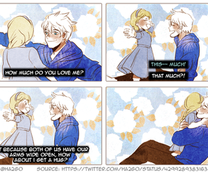 elsa, jelsa, and cute image