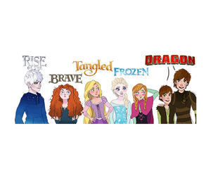 brave, frozen, and tangled image