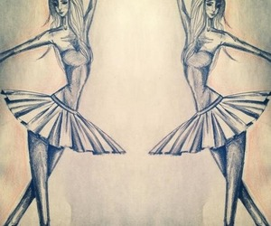 art, girl, and long image