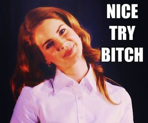 lana del rey, bitch, and funny image