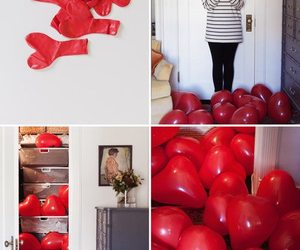 balloon, heart, and valentine image