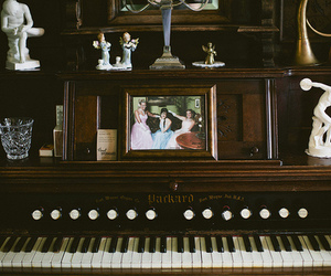 keys, photography, and piano image