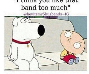 family guy, band, and funny image
