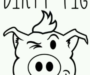 dirty, pig, and dirtypig image