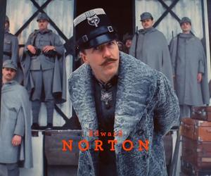 edward norton, wes anderson, and the grand budapest hotel image