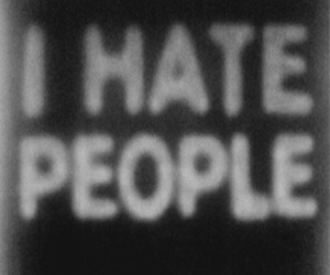 hate, people, and text image