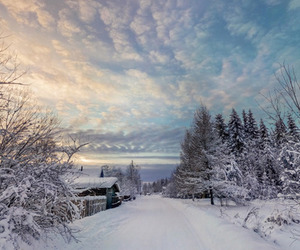 colourful, photography, and snow image
