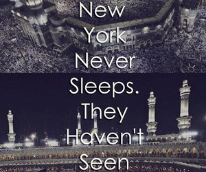 makkah, islam, and new york image