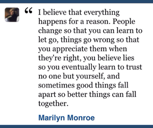 believe, marilyn, and quotes image