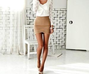 beautiful, dress, and short image