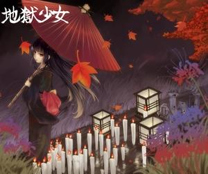 anime, hell girl, and kimono image