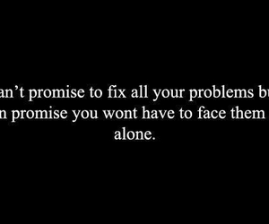 promise, text, and problem image