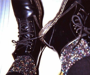 grunge, boots, and black image