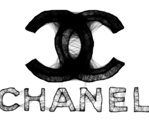 chanel, black, and black and white image
