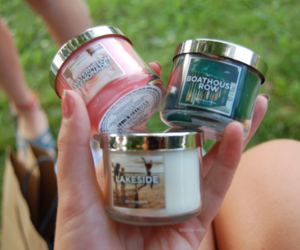 candle, tumblr, and bath and body works image