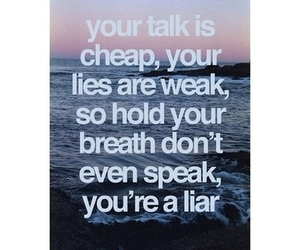 liar, lies, and quote image