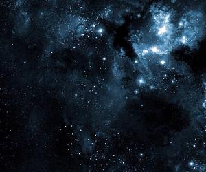 blue, stars, and sky image