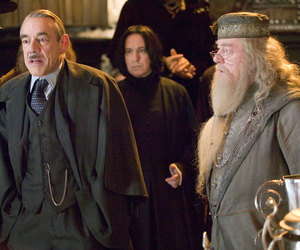 harry potter, dumbledore, and snape image
