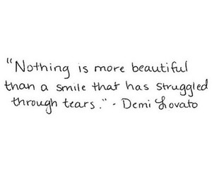 demi lovato, quotes, and smile image