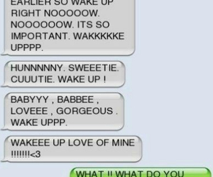love, cute, and text image