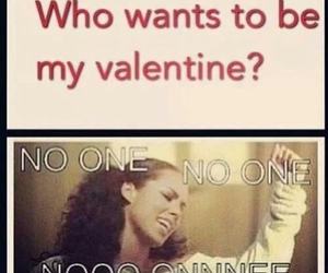 alicia keys, funny, and valentines day image