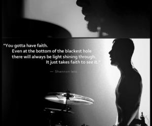 shannon leto and quote image