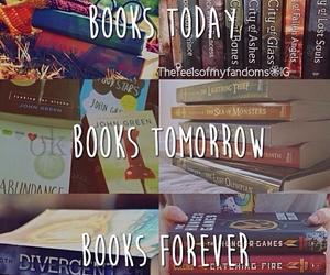 books, forever, and reading image