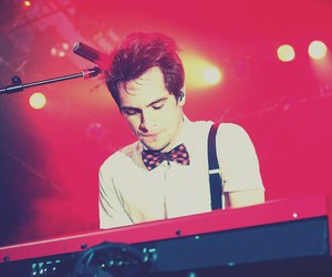 panic! at the disco and brendon urie image