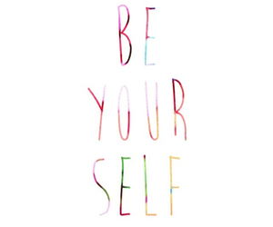 be yourself, cool, and inspiring image