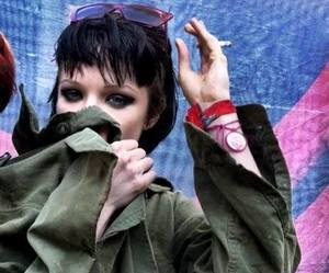 Alice Glass, cc, and Crystal Castles image