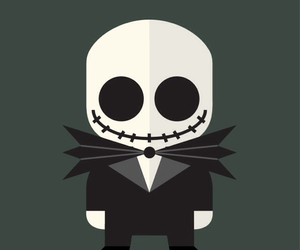 goth, jack, and wallpaper image