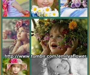 babies, collection, and flowers image