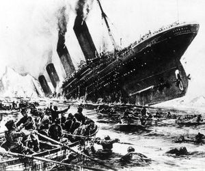 never forget, titanic, and tragedy image