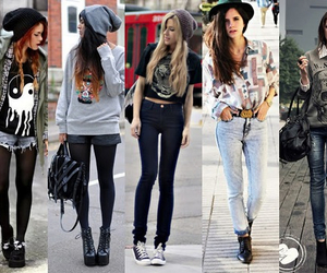 girl, hipster, and outfit image