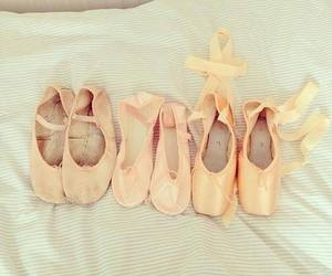 ballet, ballet shoes, and dance image