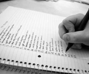 love it, writing, and bucket list image