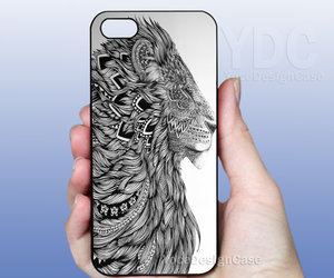 art, iphone, and ornate zentangle image