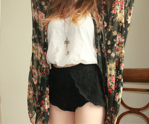 clothes, fashion, and floral image