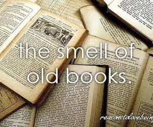 book, smell, and old image