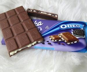 oreo, chocolate, and milka image
