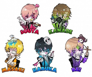 chibi, colors, and guys image