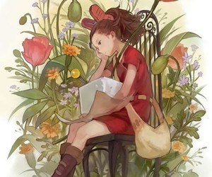 anime, studio ghibli, and arrietty image