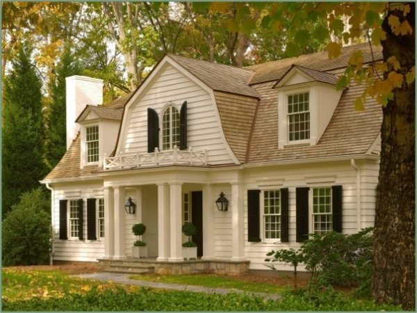 Classic Dutch Colonial House Plans With