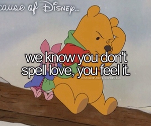 disney, pooh, and because of disney image