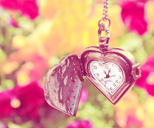 clock, fofo, and heart image
