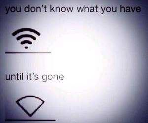 wifi, funny, and gone image